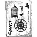 "49 & Market Clear Stamps 3""X4"" - Scents Of Nature"